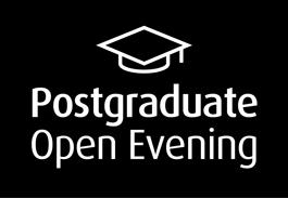Link to postgraduate Open Evening information.