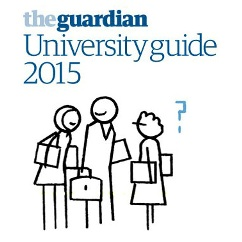 The Guardian university league table
