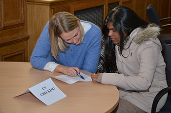 CV checking at Middlesex University