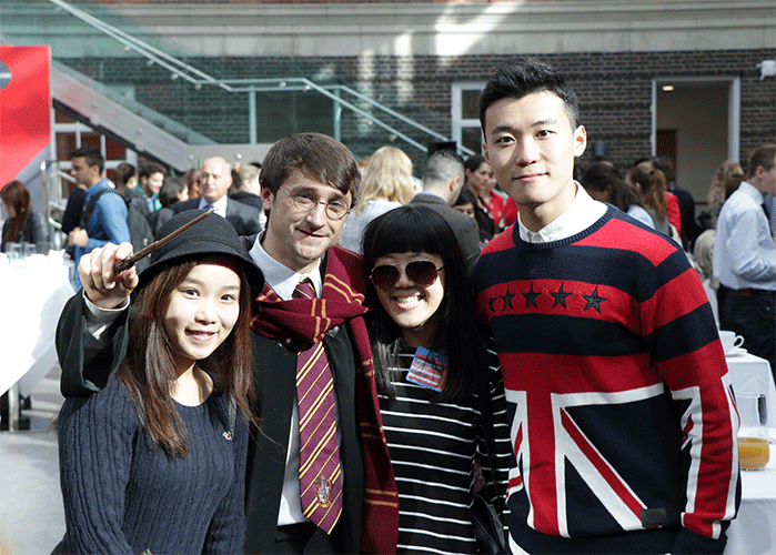 Great British Tea Party Middlesex University