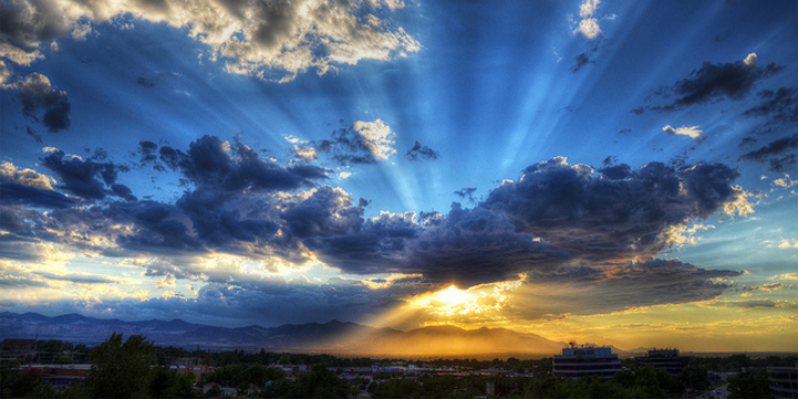 Sunrays and Clouds