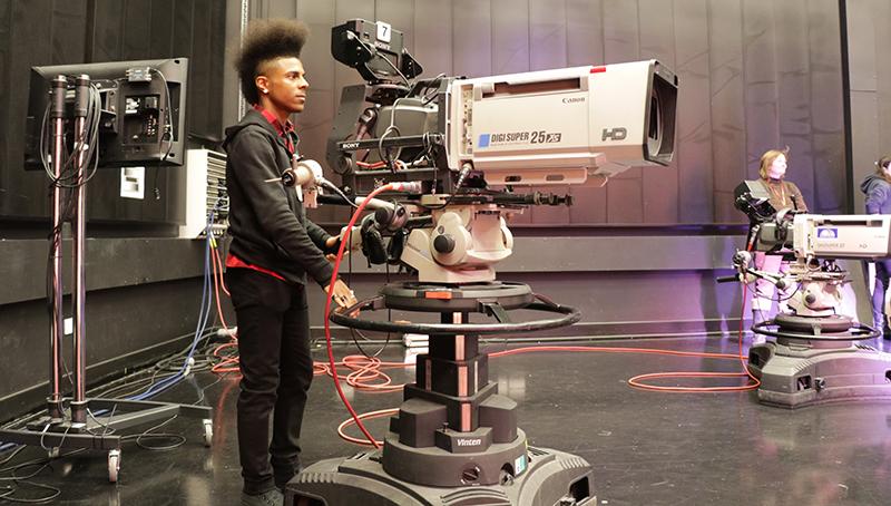Elvin charles filming