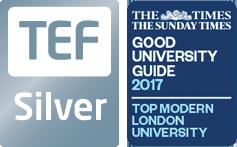 Teaching Excellence Framework: Silver | Good University Guide 2017: Top Modern London University