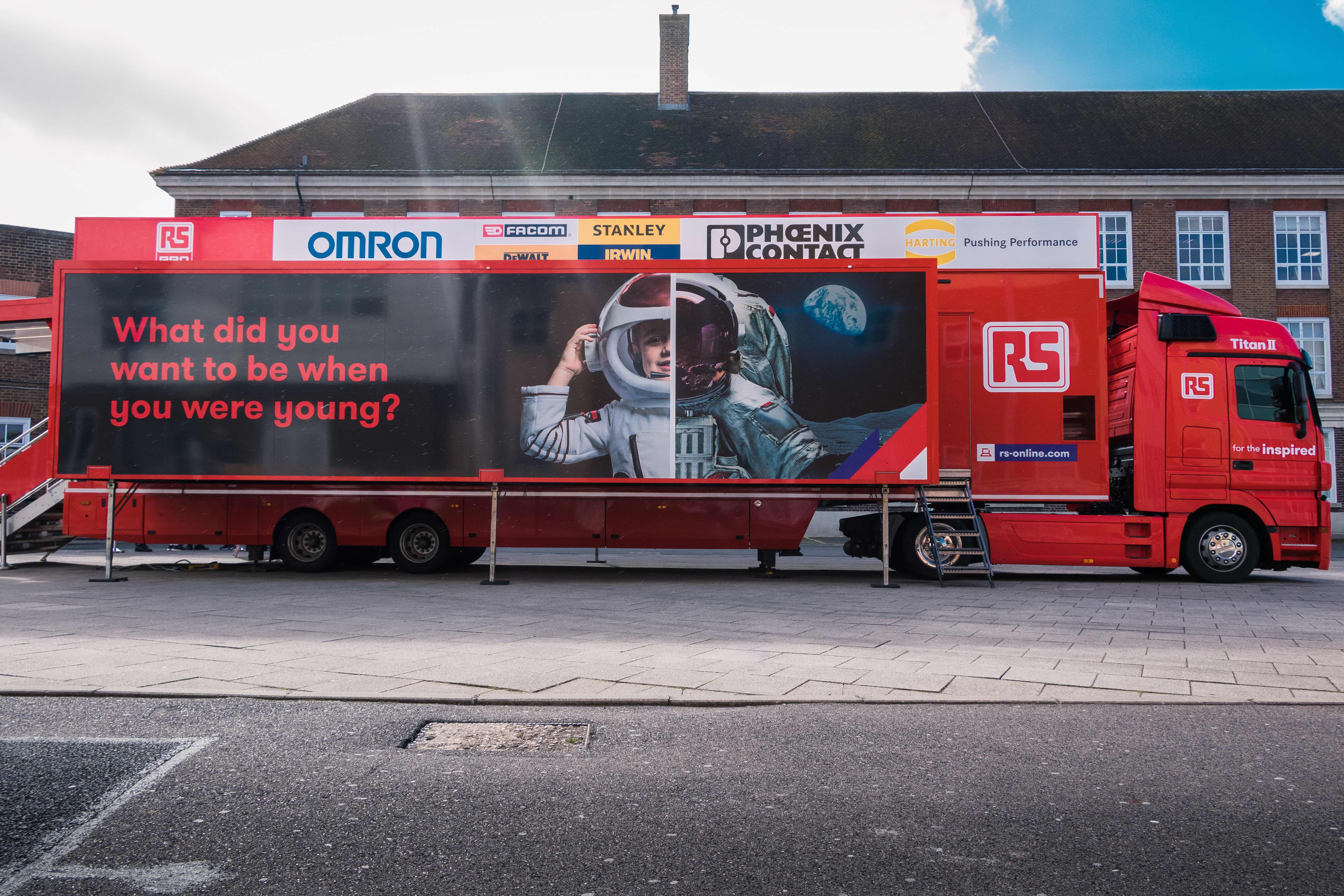 Titan II truck among new attractions at MDX STEM Festival for British Science Week