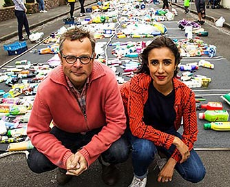 MDX academics support BBC series War on Plastic with Hugh and Anita