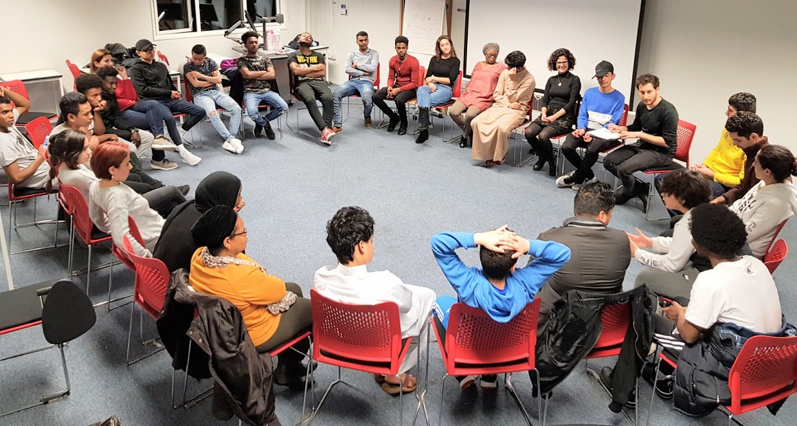 MDX helping teenage refugees by hosting inspirational youth club