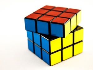 A rubik's cube (Credit: William Warby)
