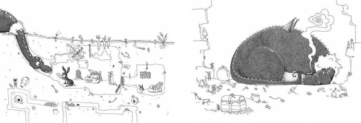 Eva Strassburger illustration book