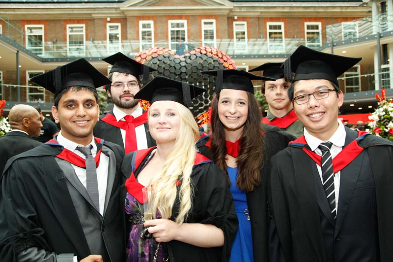 Students enjoy day four of graduation