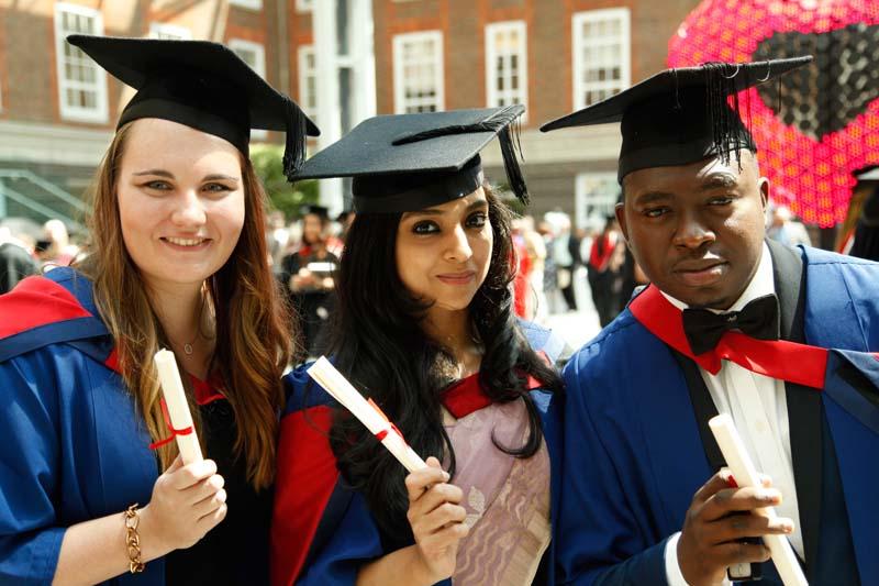 Students celebrate Graduation 2015