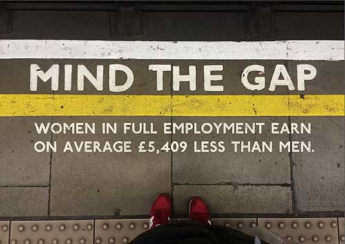 Mind the Gap Sylvia Wydrak Graphic Design