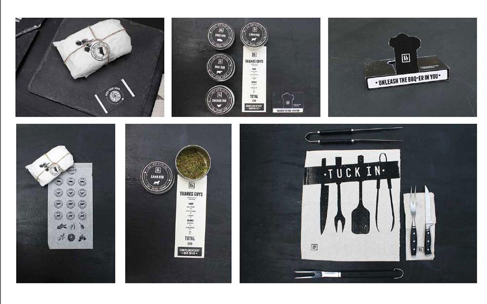 BA graphic design student work showcase