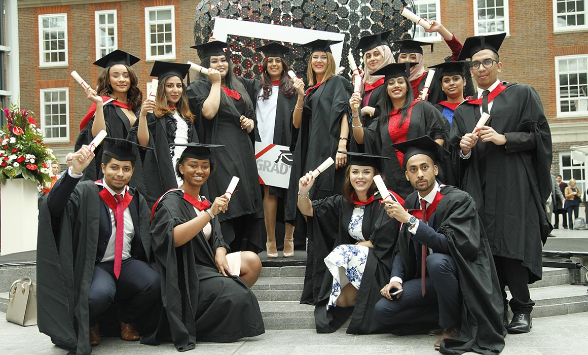 Middlesex Graduates at the 2016 Graduation Ceremony