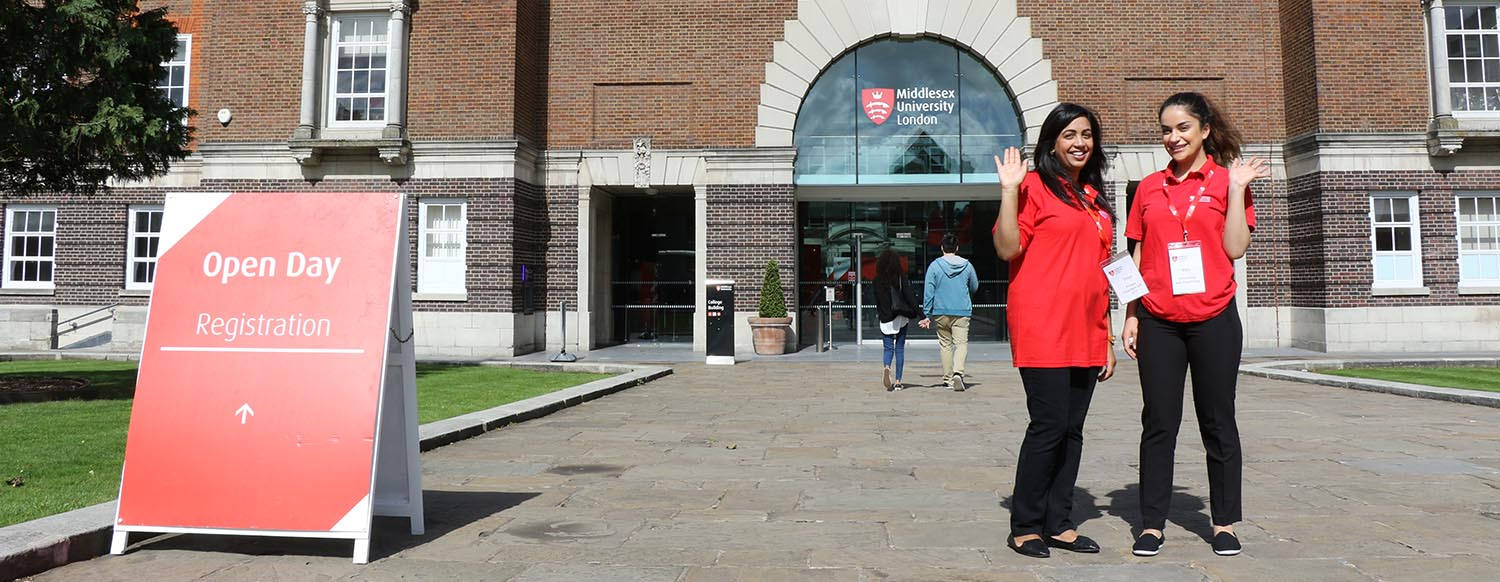 Open Day Middlesex University