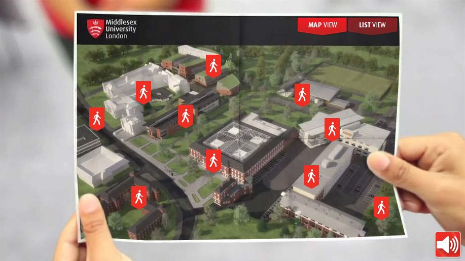 middlesex university campus map Virtual Tour middlesex university campus map