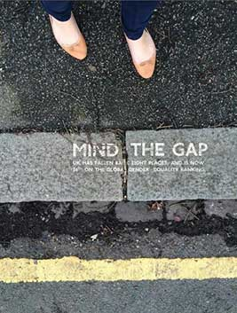 Mind the Gap Sylvia Wydrak