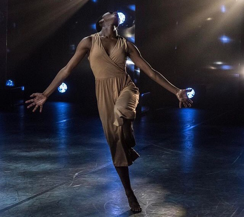 Nafisah at the BBC Young Dancer of the Year