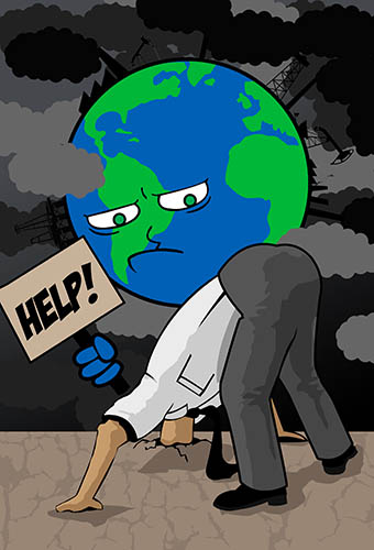 Global warming and how we (don't) respond to it promo image