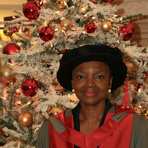 Baroness Amos - Winter Graduation