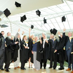 The Ponderonians at their graduation