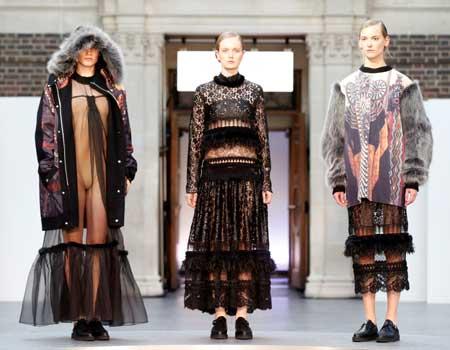Middlesex University fashion show