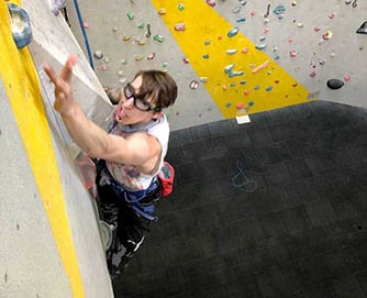 Middlesex paraclimber selected for Team GB