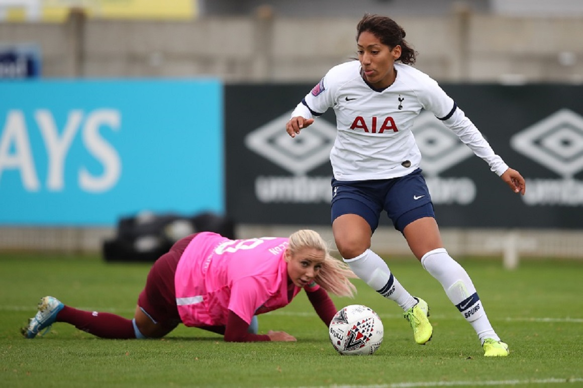 Tottenham Hotspur Women star juggling MDX degree studies with professional football career