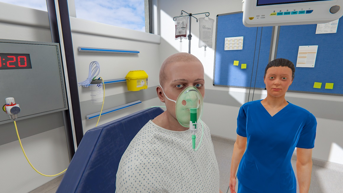 MDX invests in pioneering virtual reality hospital ward technology for student nurses