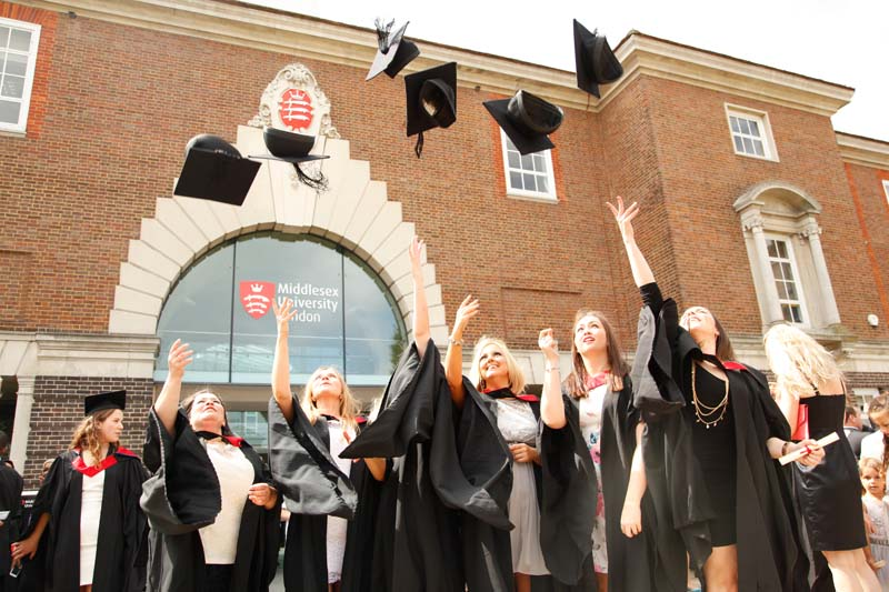 Students celebrate on day four of Graduation