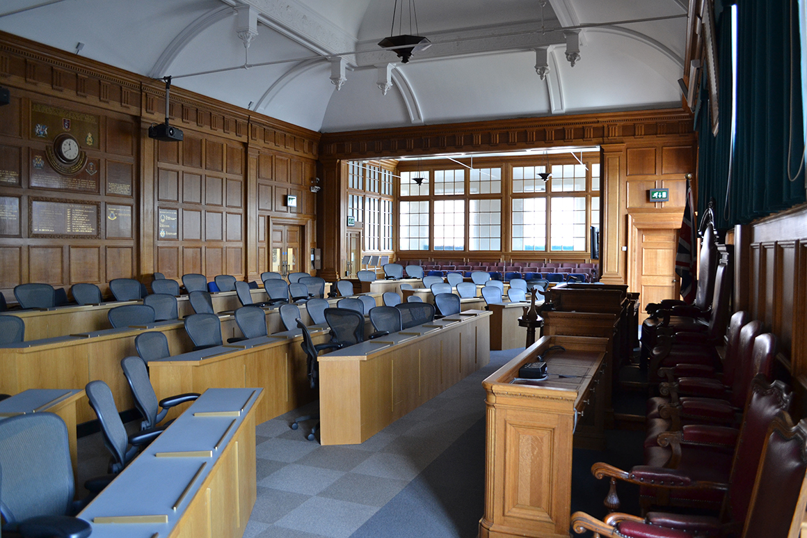 Moot chambers Middlesex University