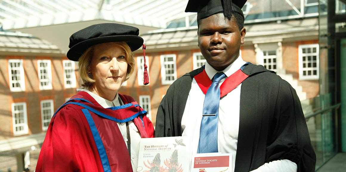 Nathaniel Legall and Dr Celia Bell