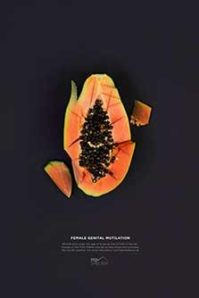 Fatma Al Mansoury FGM prevention graphic design