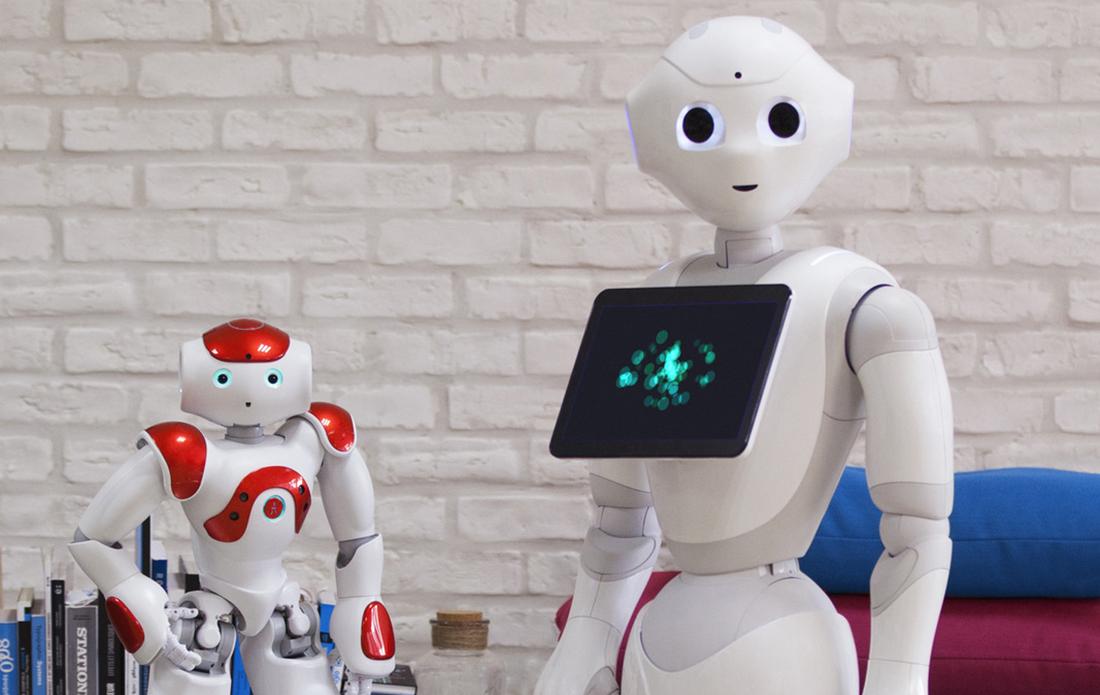 Pepper a robot by Softbank Robotics