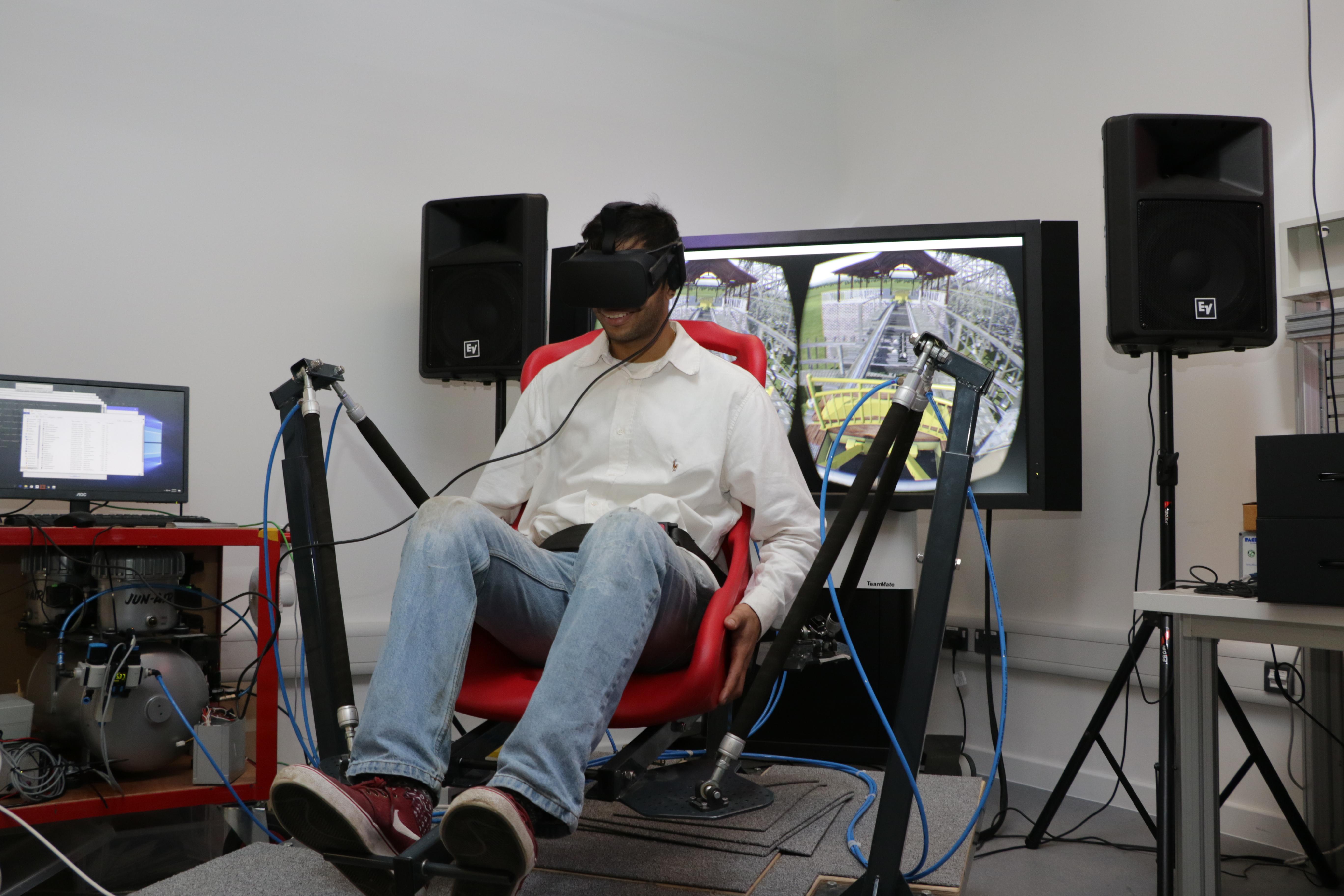VR stimulation