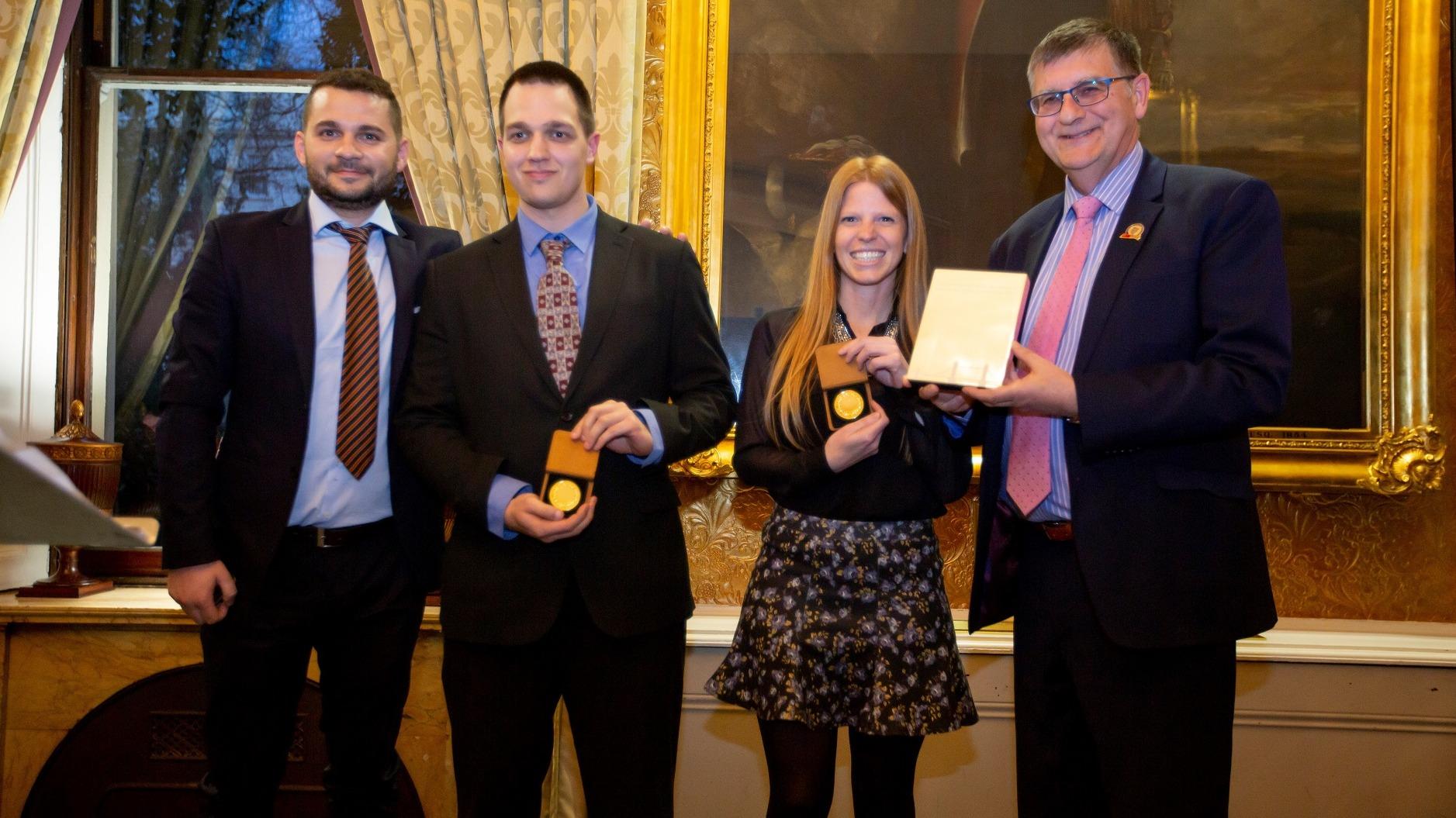 MDX team strikes gold in international entrepreneurship competition