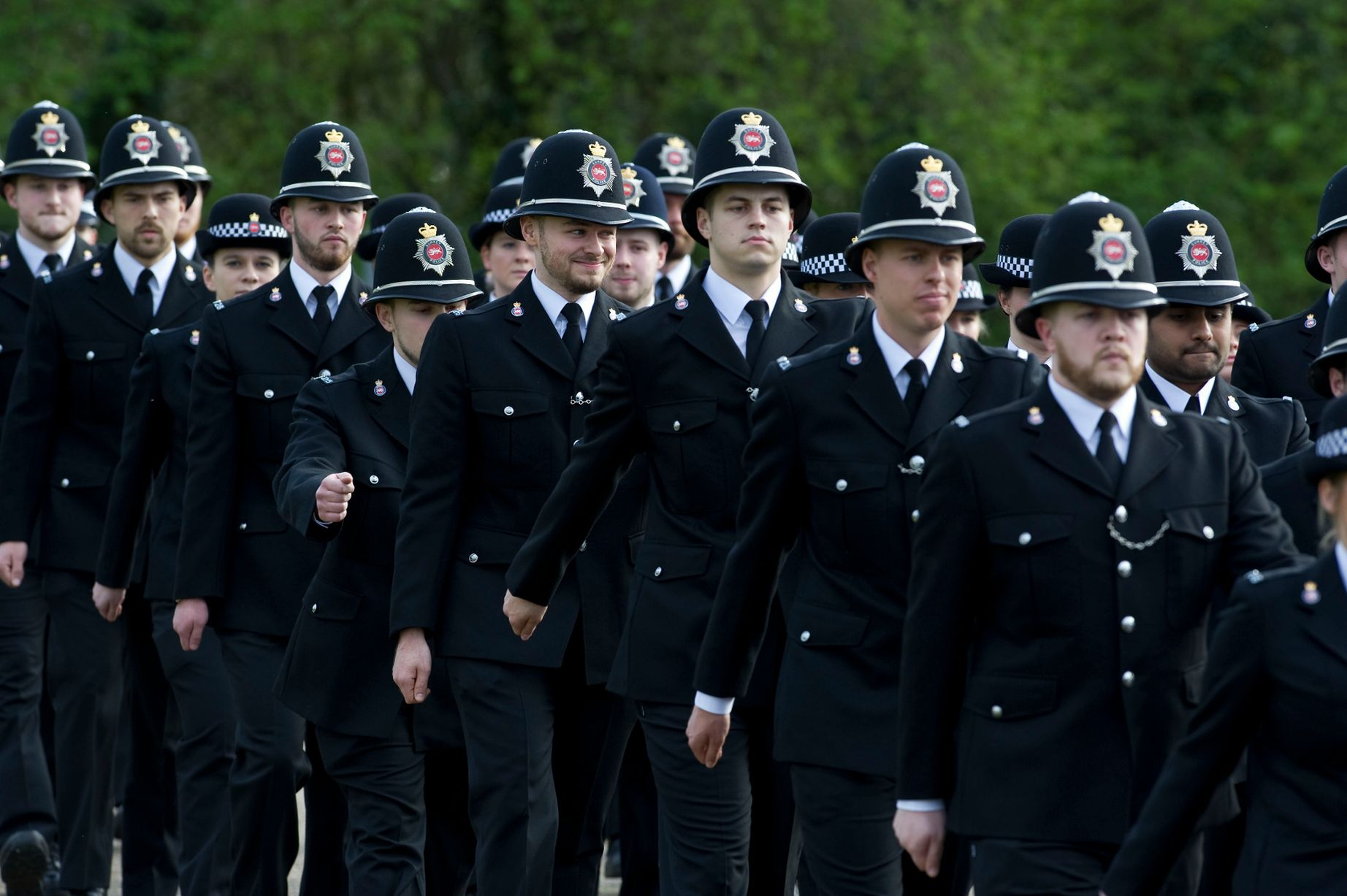 Surrey Police recruits.jpg