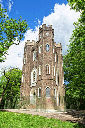 Severndroog Castle in Greenwich, London