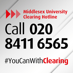 Call the Clearing hotline on 020 8411 6565