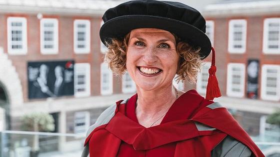 Maggie Appleton, Honorary Graduate