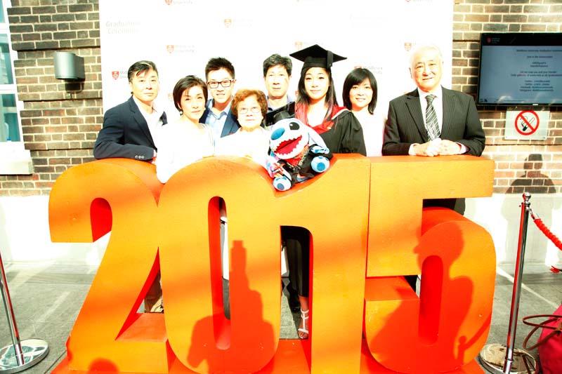 Students enjoy Graduation 2015