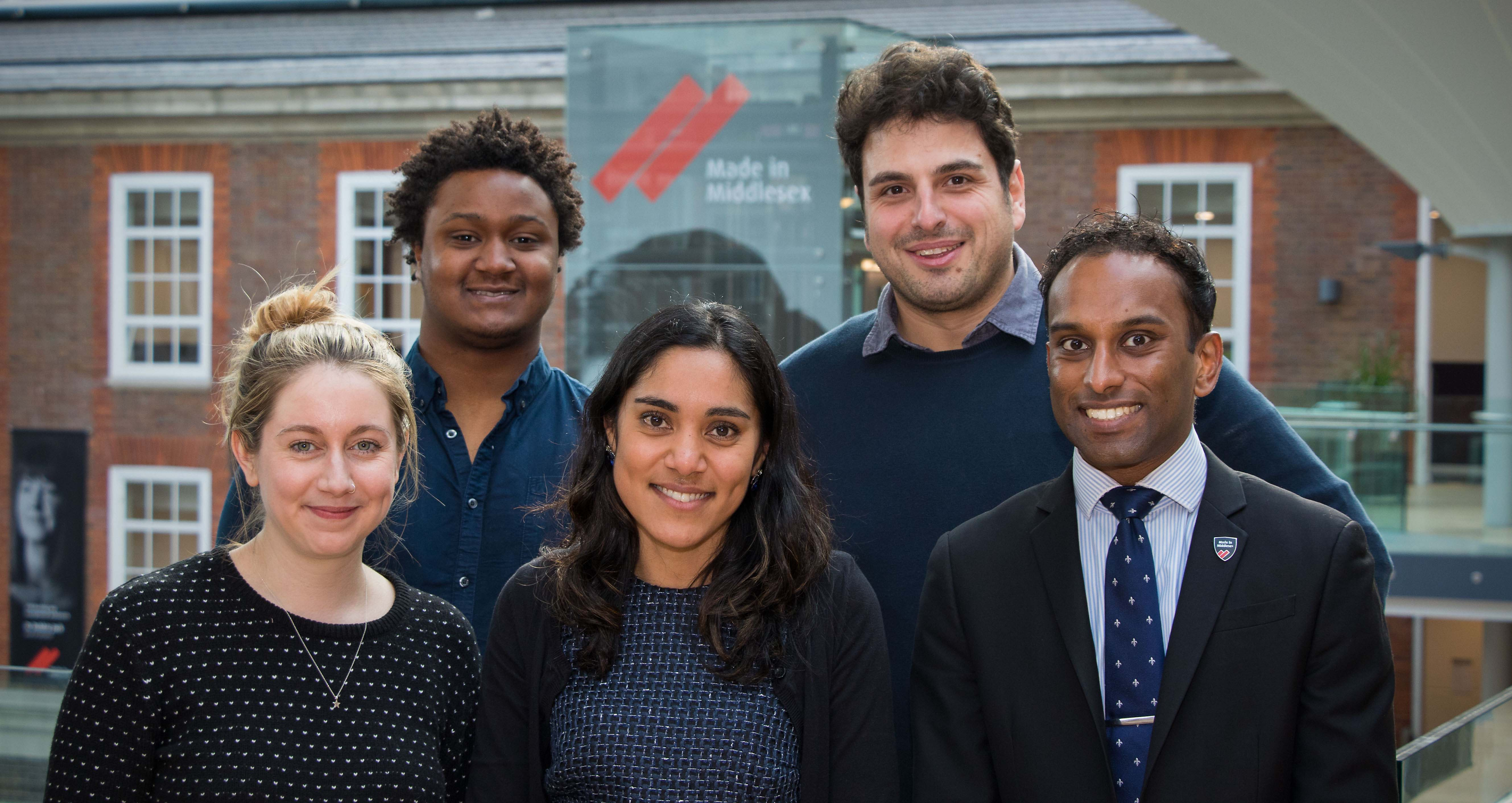 Middlesex University Alumni Team 2018