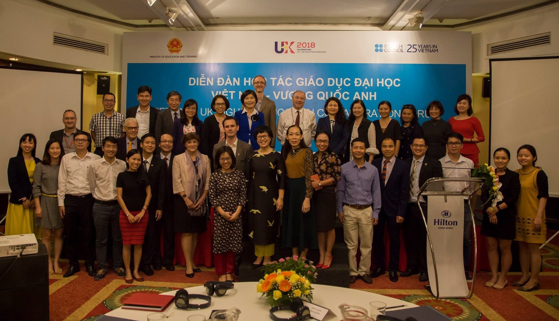 MDX strengthens links with Vietnam through academics' visit, workshops and British Council-Vietnam partnership