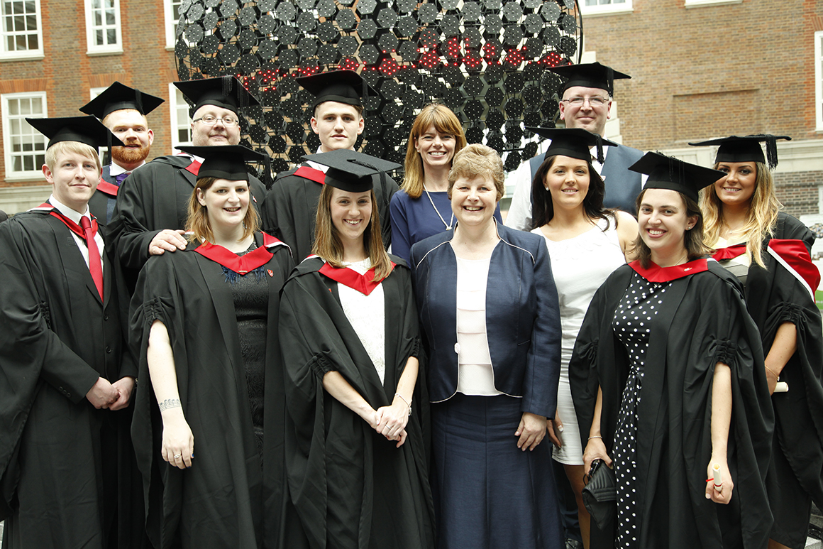 Celebrations As First Asda Graduates Complete Pioneering