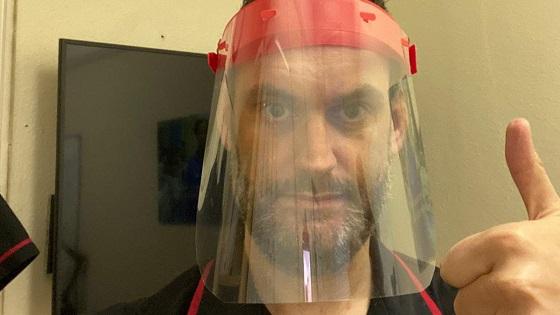 Demo of Face Visor for NHS