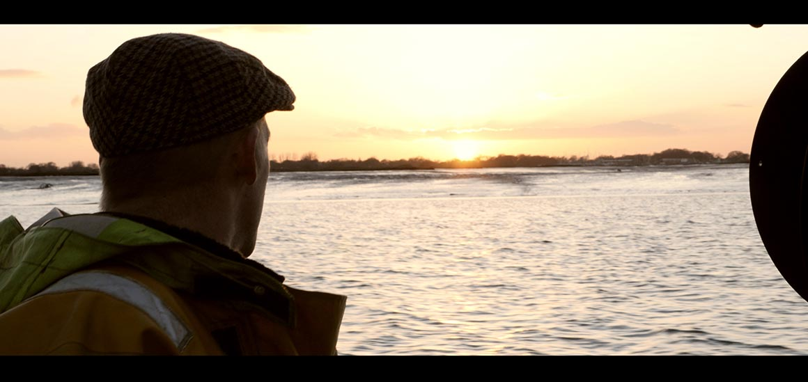 A screen still from the documentary Not Enough Fish