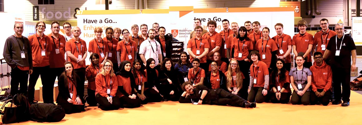 Staff and students come together at the Skills Show
